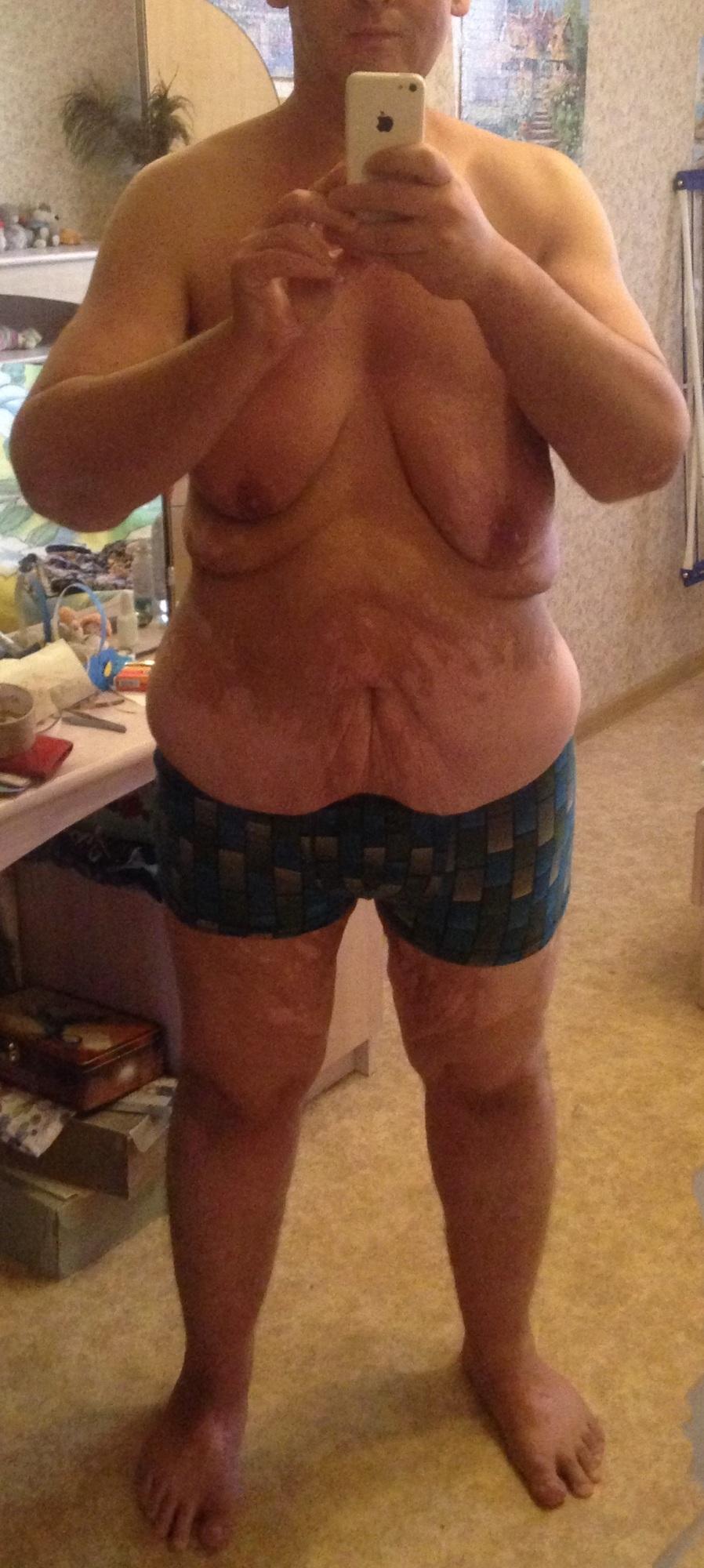 процесс похудения продолжается